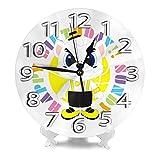 サンロッカーズ渋谷 壁時計 北欧 おしゃれ 円形掛け時計 連続秒針 静音 部屋装飾 インテリア 置き時計 寝室 店舗 家 部屋装飾 簡単 アラビア数字壁掛け時計 シンプル おしゃれ 贈り物