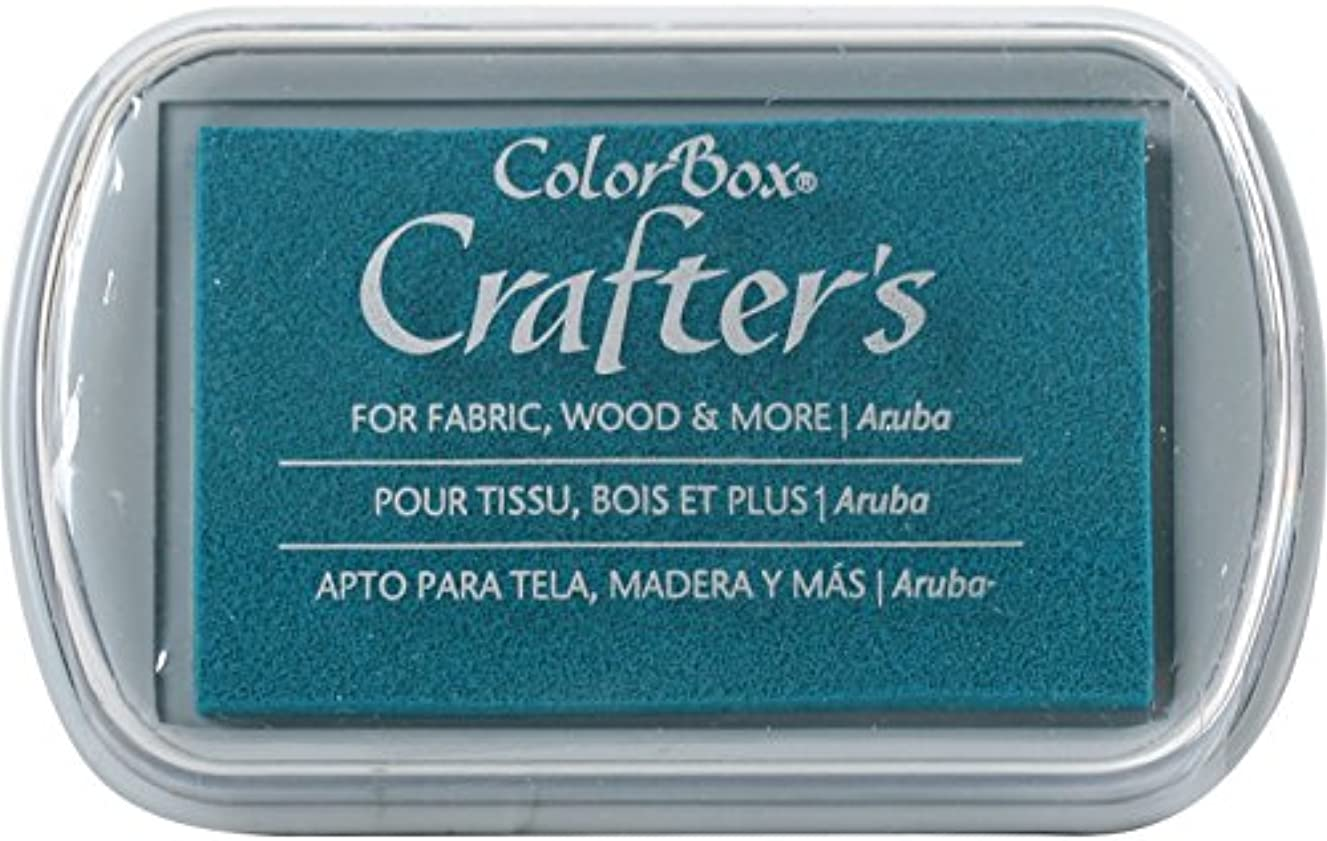 CLEARSNAP ColorBox Crafter's Full Size Inkpad, Aruba
