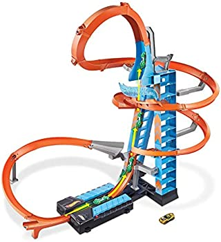 Hot Wheels Sky Crash Tower Track Set