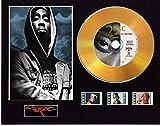 Tupac 2Pac - Pantalla de CD con efecto de vinilo, color negro o dorado y 3 celdas de película (disco dorado, All Eyez On Me sin marco)