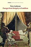 Passages from Antiquity to Feudalism (Verso World History Series)