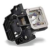 Hfy Marbull, lampada di ricambio PK L2312U, con alloggiamento, per proiettori Jvc DLA RS46U, DLA RS48U, DLA RS56U, DLA RS66U3D, DLA X35, DLA X55R, DLA X75R, DLA X95R, DLA X500R, DLA X700R, DLA X900R