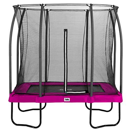 Salta Comfort Edition Trampolin - rechteckig - 214 x 305cm - Pink
