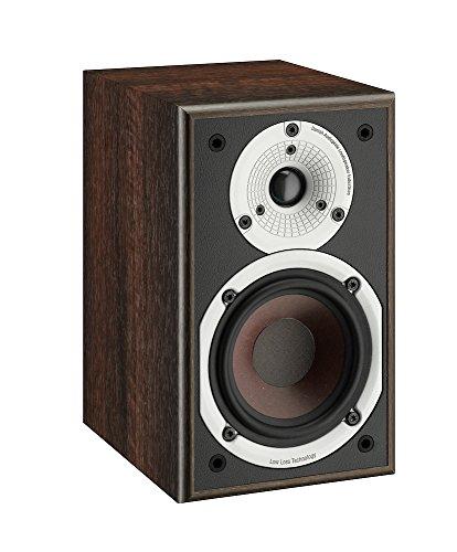 Dali Spektor 1 100W Noyer haut-parleur - Hauts-parleurs (2-voies, Avec fil, 100 W, 59 - 26000 Hz, 6 Ohm, Noyer)