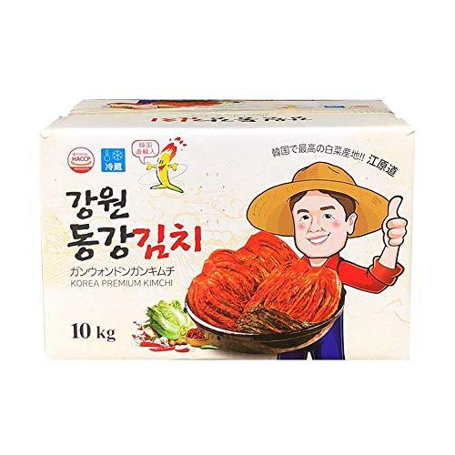 【江原東江】ガンウォンドンガン 白菜キムチ 「韓国産」 (10kg)