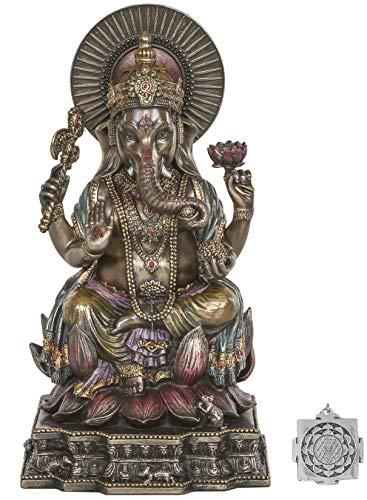 Estatua Ganesh - Altar hindú Versorgungskit - 6,2