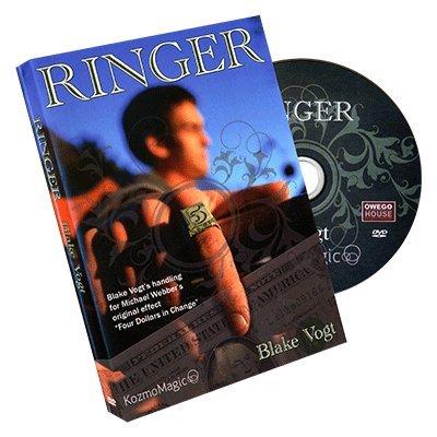 SOLOMAGIA Ringer (DVD and Gimmick) by Blake Vogt and Kozmomagic - DVD und Didaktik - Zaubertricks und Props