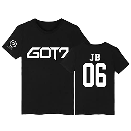 GOT7 T-Shirt Bambam Mark Jackson Youngjae Tee Shirt