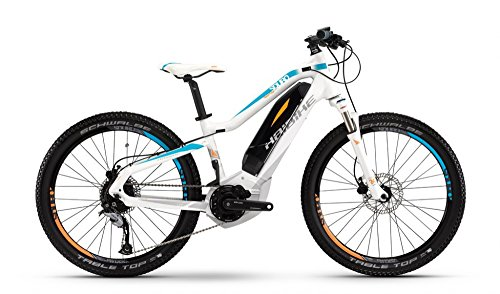 HAIBIKE SDURO HardFour Life 24 - Bicicletas eléctricas Niños - blanco 2016
