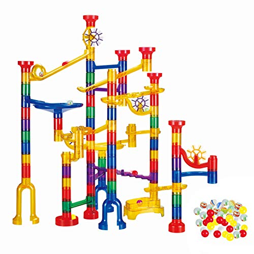 WTOR 190Pcs Marble Run Sets STEM Toys for Kids Boys Girls,...