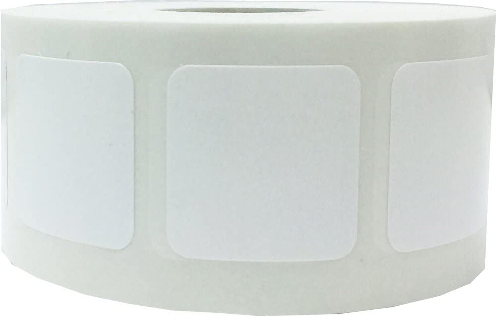 White Color Coding Labels for 1 Organizing Inch Max 81% OFF Inventory Direct store Square