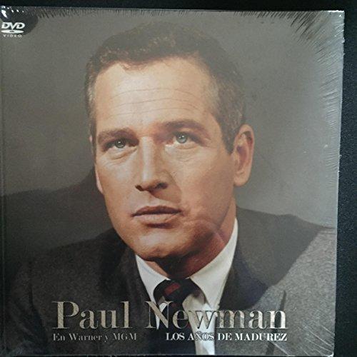 PAUL NEWMAN libro + 5 DVDs Harper Investigador Privado + La Leyenda del Indomable + El Juez de la Horca + El Hombra de Mackintosh + El Coloso en LLamas