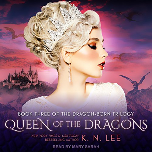 Queen of the Dragons audiobook cover art