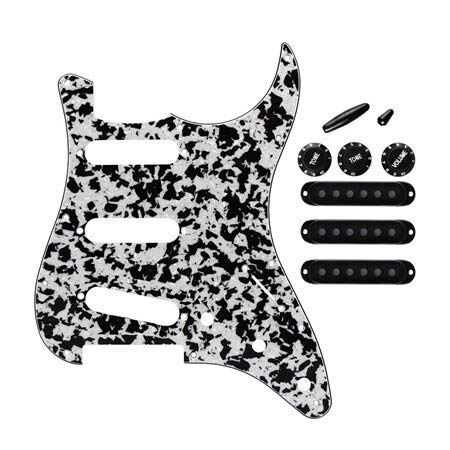 Guitar Parts Black Agate Special sale item 4Ply Electric Pickguard Bombing new work C Pickup