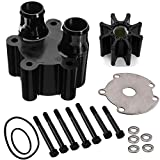 Water Pump Housing & Impeller Repair Kit Replaces for Mercruiser Bravo 46-807151A14,by LIYYOO