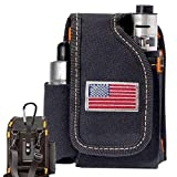 Vape Mod Carrying Bag, Vapor Case for Box Mod, Tank, E-Juice, Battery - Best Vape Portable Travel to Keep Your Vape Accessories Organized [CASE ONLY]