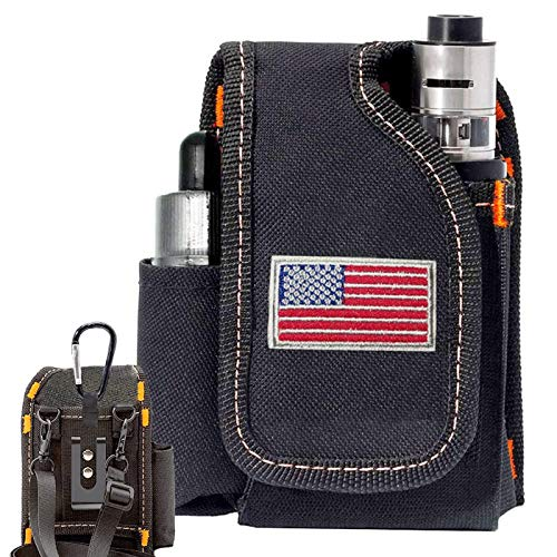 Vape Mod Carrying Bag, Vapor Case for Box Mod, Tank, E-Juice, Battery - Best Vape Portable Travel to Keep Your Vape Accessories Organized [CASE ONLY]