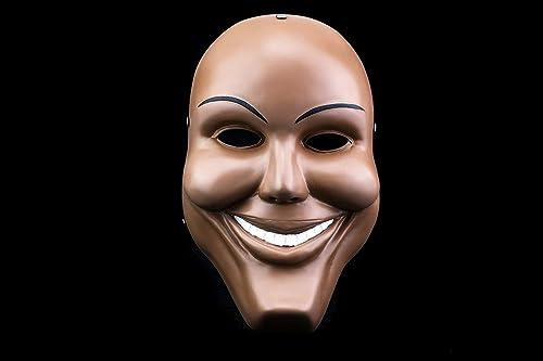 Résine masque sourire très haute qualité fabriqué à la main la purge  American Nightmare