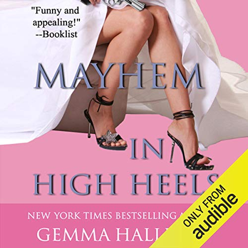 Mayhem in High Heels audiobook cover art