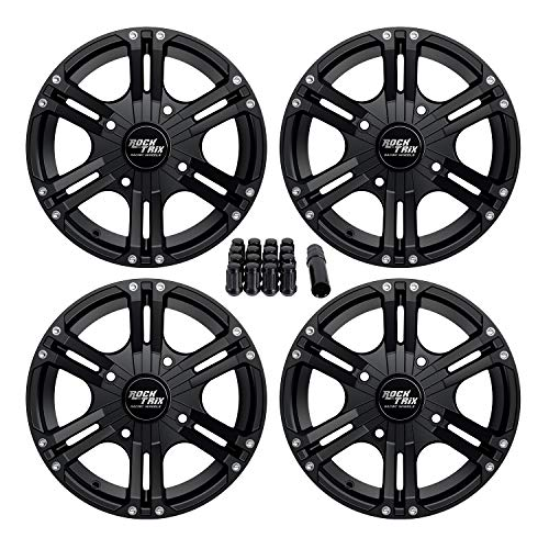 STI HD9 Beadlock 15x10 ATV//UTV Wheel 5+5 Matte Black//Machined 4//137