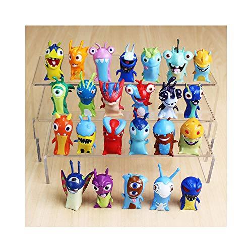 PsWzyze 24 Piezas/Lote 4-5 cm Dibujos Animados Slugterra PVC Figuras de acción Juguetes muñecas niños