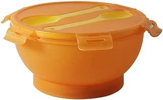 Chef's Basics Select Salad Bowl Set with Cooler Pack, Orange