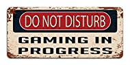 The perfect warning sign for those who wish to not be disturbed and to keep out the annoyances when they are hard at work. An awesome gift for gamers, geeks, and teenagers to display in the video games room. Size = Width 20cm : Height 10cm, The Perfe...