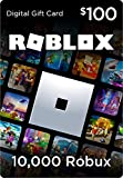 Roblox Gift Card - 10000 Robux [Includes Exclusive Virtual Item] [Online Game Code]