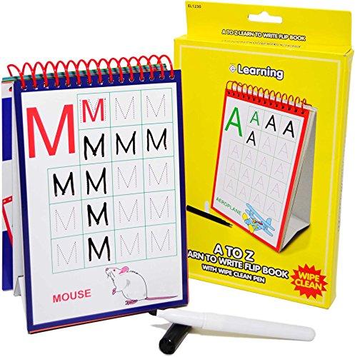 Esposti Libro Animado Infantil Aprende a Escribir de la A a la Z – Aprendizaje Infantil