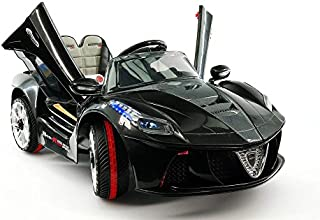 12V Ferrari Style Electric Battery Powered Ride on Car MP3 with Parental Remote Kids Toy