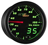 MaxTow Double Vision 100 PSI Oil Pressure Gauge Kit - Includes...