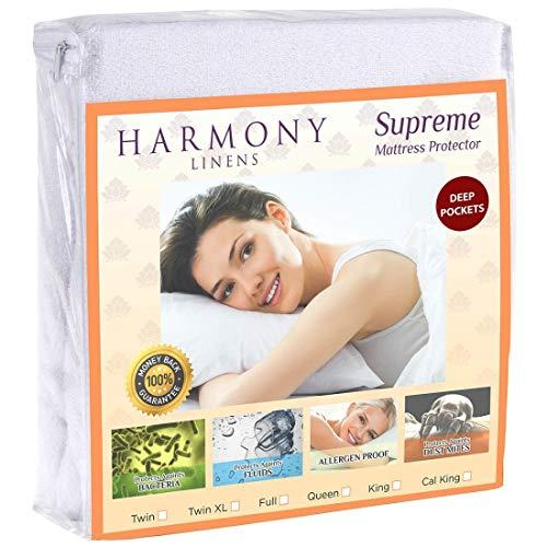 Armonía Linens Premium Protector de colchón...