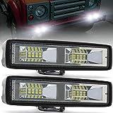 48W LED Work Light Bar,6' LED Flood Lights Off Road Driving Fog Lights12V 24V Roof Light Bar LED Auxiliary...