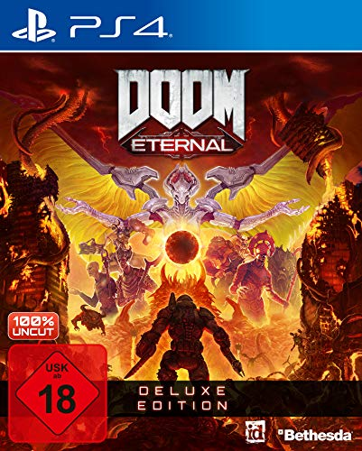 DOOM Eternal - Deluxe Edition [PlayStation 4] | kostenloses Upgrade auf PS5