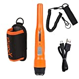 Quest 1V_1701.102 Xpointer Pro-Waterproof Pin Pointer, 25 cm, Orange