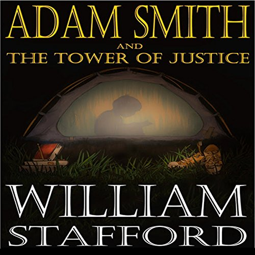 Adam Smith and the Tower of Justice audiobook cover art