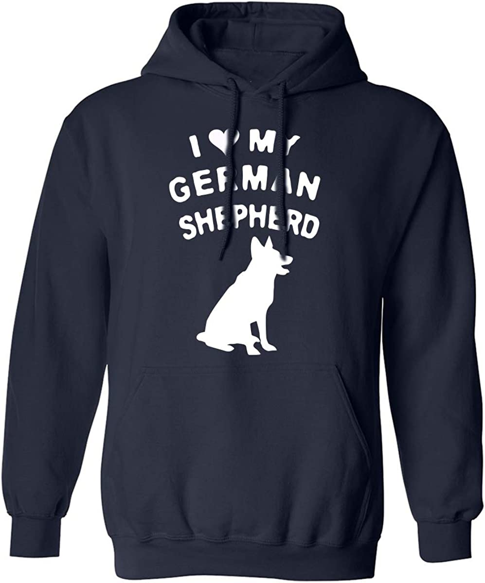 I Special price for a limited time Excellence Love My German Sweatshirt Shepherd Adult Hooded