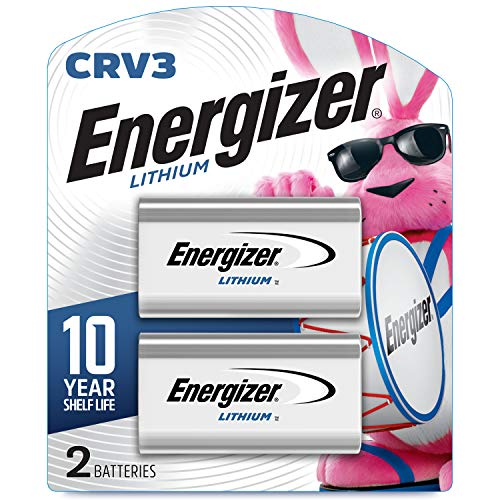 Energizer CRV3 Lithium Photo Batteries (2 Battery Count)