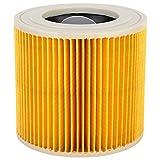 Cafopgrill Filtro a Cartuccia Filtro a Umido e Secco Filtro a Vuoto Accessori per Adattatore per Karcher A2004 / 2054/2204/2656