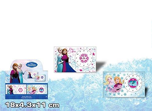 Disney Frozen Reine des neiges Réveil en Bois Rectangle