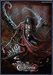 Castlevania 2: Lords of Shadow - Framed Gaming Poster/Print (Dracula) (Size: 27 inches x 39 inches)