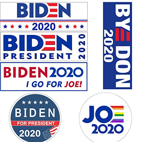 12 Pcs Joe Biden Bumper Sticker 2020 for Presidential Election,Byedon 2020 Bumper Sticker,Biden 2020 Bumper Sticker Car Decals,Joe Biden Stickers,9 X 3 Inch Biden Bumper Stickers for Cars and Truck