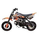 Coolster Kids Mini Dirt Bike 70cc Youth Gas Pit Bike Semi-Automatic 4-Speed CRF50 Style (Black)