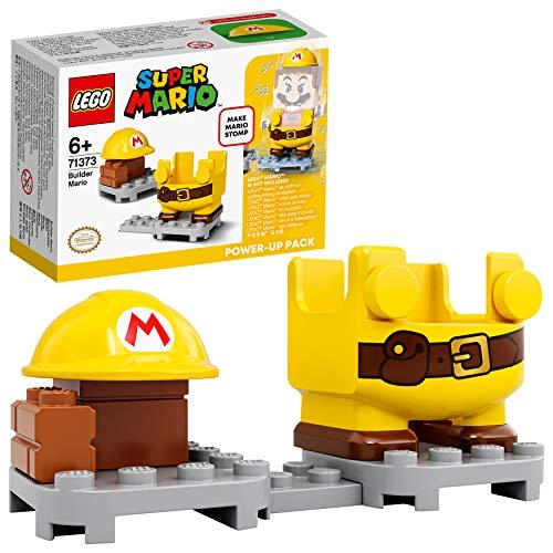 LEGO Super Mario Constructor Pack Potenciador, Set de Expansión, Disfraz para Juguete Stomp (71373)