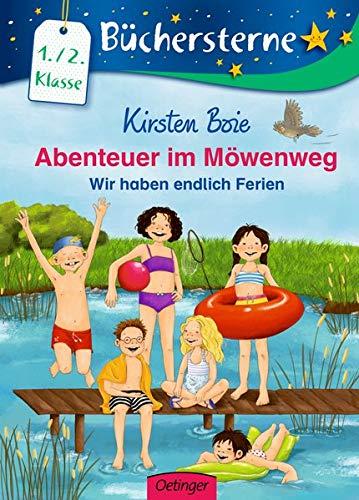 Abenteuer im Möwenweg: Wir haben endlich Ferien: Mit 16 Seiten Leserätseln und -spielen (Büchersterne)
