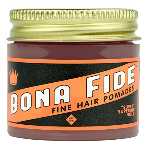 Bona Fide Pomade,'Super' Superior Hold, 1 oz.