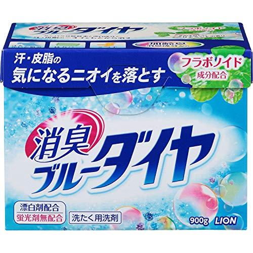 消臭ブルーダイヤ蛍光剤無配合洗濯洗剤粉末0.9kg