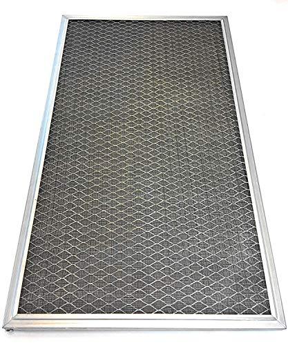 Waschbarer Permanent elektrostatischer Luftfilter von Venti Tech - HLAC System Filter - Erfasst Allergene für gesünderes Zuhause - Erhöht den Luftstrom, reduziert HVAC Stress 21x21x1