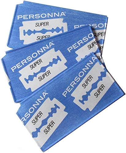 Personna Double Edge Prep Razor - Model 74-0002 - 50 Blades