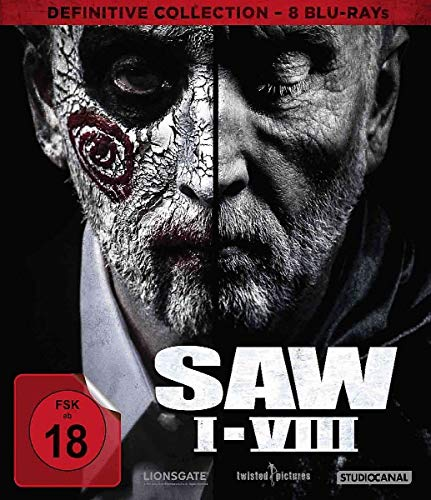 SAW I-VIII / Definitive Collection [Blu-ray]